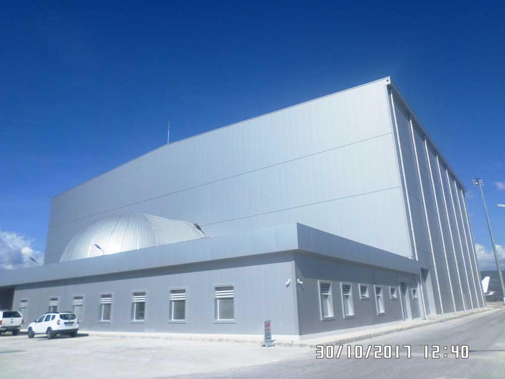 AMAC AEROSPACE BODRUM MİLAS BAKIM HANGAR KOMPLEKSİ PROJESİ