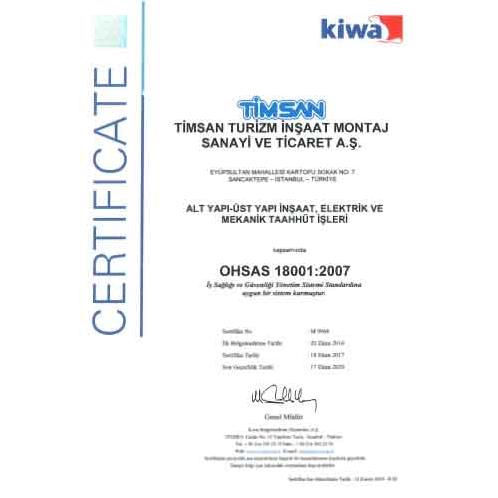 Ohsas sertifika